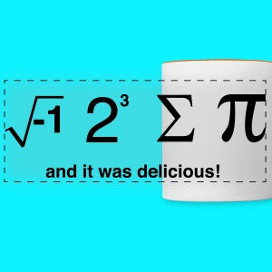 I ate pi and it was delicious