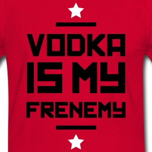 Vodka is my Frenemy T-Shirts - Männer Kontrast-T-Shirt