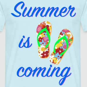 L'été arrive - Summer is coming ! - T-shirt Homme