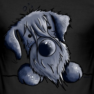 Grappig Schnauzer T-shirts - slim fit T-shirt