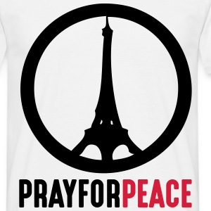Pray For Peace Paris - Männer T-Shirt