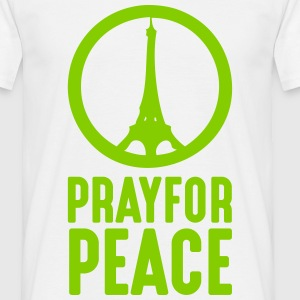 Pray For Paris - Männer T-Shirt
