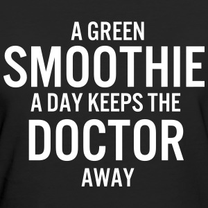 A GREEN SMOOTHIE A DAY LADIES ORGANIC T-SHIRT - Ekologisk T-shirt dam