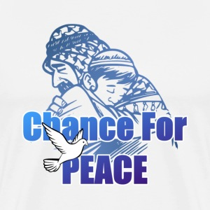 Chance For Peace - Men's Premium T-Shirt
