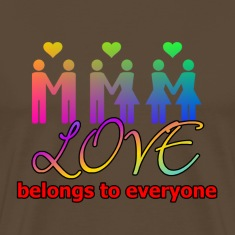 Love belongs to everyone (Equal Rights)