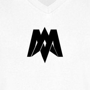 Mantra Fitness V-Neck (White) - Men's V-Neck T-Shirt