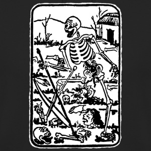 The Death - Old Indian / Asian Tarot Card - Unisex Hoodie