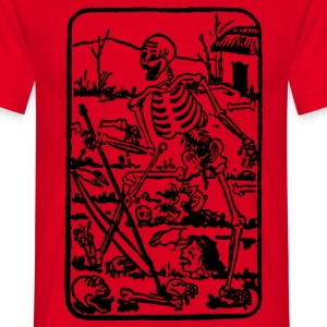 The Death - Old Indian / Asian Tarot Card - Männer T-Shirt
