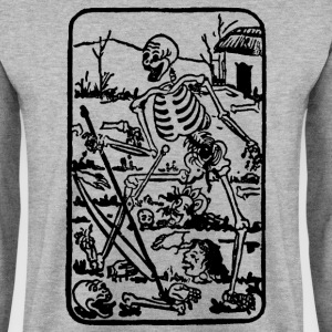 The Death - Old Indian / Asian Tarot Card - Männer Pullover
