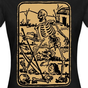 The Death - Old Indian / Asian Tarot Card - Frauen T-Shirt