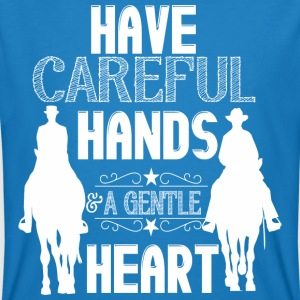Have careful Hands  T-shirts - Organic mænd