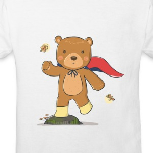 SUPER BEAR Shirts - Kids' Organic T-shirt