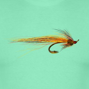 fly fishing hook Tee shirts - T-shirt Homme