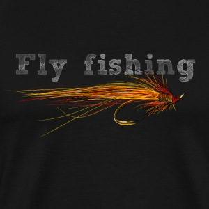 fly fishing hook Tee shirts - T-shirt Premium Homme