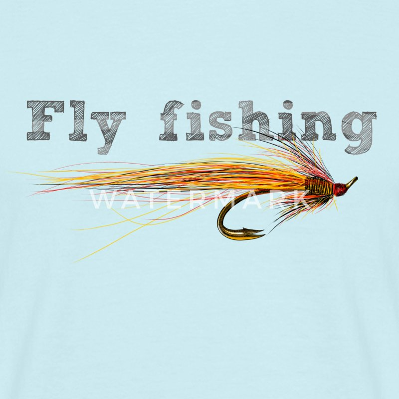 fly fishing T-Shirts - Männer T-Shirt