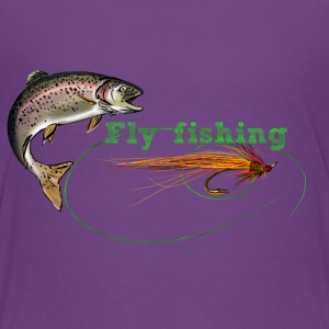 fly fishing Tee shirts - T-shirt Premium Ado
