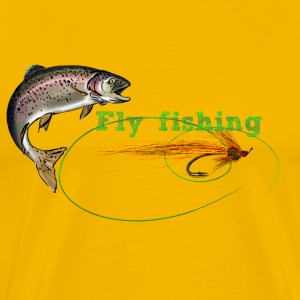 fly fishing T-Shirts - Männer Premium T-Shirt