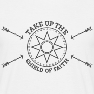 The Shield of Faith - Men's T-Shirt
