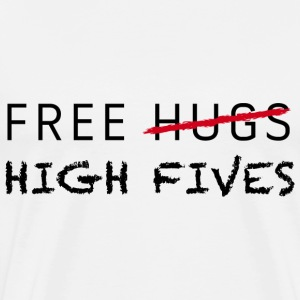 Free high fives - Mannen Premium T-shirt