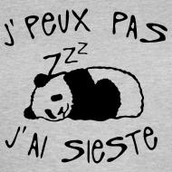 Motif ~ J peux pas j ai sieste panda