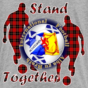 Scotland together football tartan Shirts - Kids' Premium T-Shirt