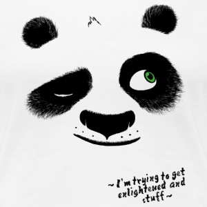 Kung Fu Panda 3 Po Enlightened Frauen T-Shirt - Frauen Premium T-Shirt