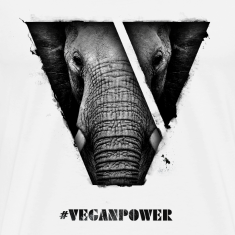 #VeganPower - Elephant