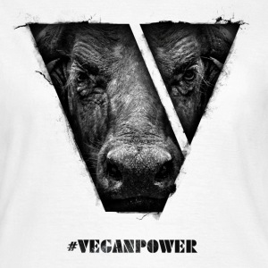 #VeganPower - Buffalo - Women's T-Shirt