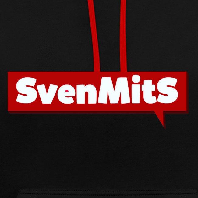 SvenmitS Hoodie [Schwarz/Rot]