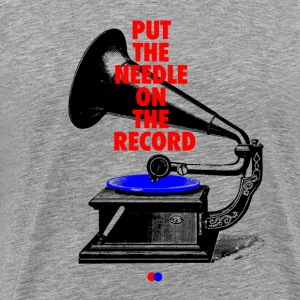 Needle on the record T-Shirts - Männer Premium T-Shirt