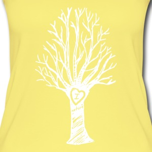 I love nature - Vrouwen bio tank top
