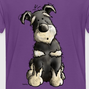Leuke Schnauzer Shirts - Teenager Premium T-shirt