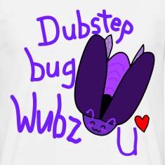 Dubstep bug shirt