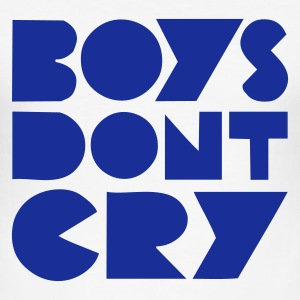 BOYS DON'T CRY T-skjorter - Slim Fit T-skjorte for menn