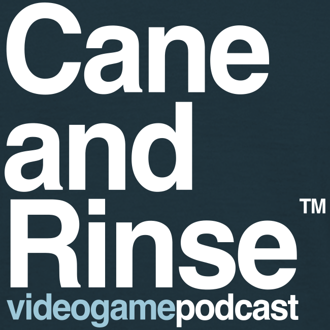 Cane and Rinse logo Navy