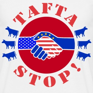 TAFTA - TTIP - EUROPE vs USA - T-shirt Homme