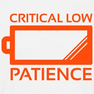 Critical Low Patience - T-shirt Homme
