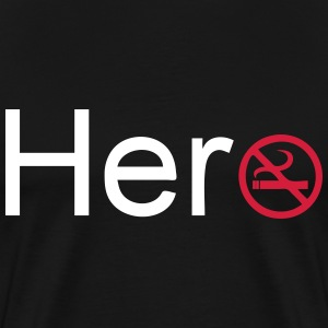 Hero (Quit Smoking) - Men's Premium T-Shirt