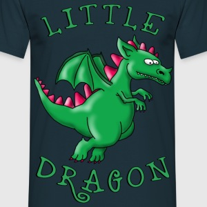little_dragon_04201601 T-Shirts - Männer T-Shirt