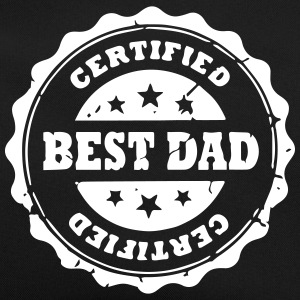 Certified Best Dad -Stars Bags & Backpacks - Retro Bag
