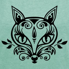 Fox What does the fox say? forest spring summer Tops