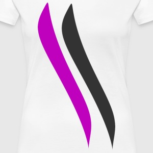 parallel wings.png T-Shirts - Frauen Premium T-Shirt