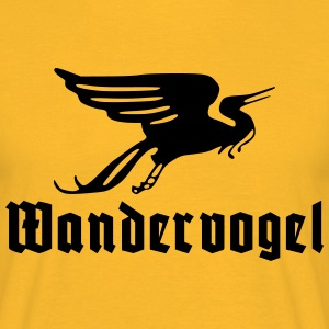 Wandervogel text T-skjorter - T-skjorte for menn