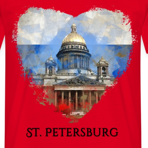 My heART  beats for … St.Petersburg