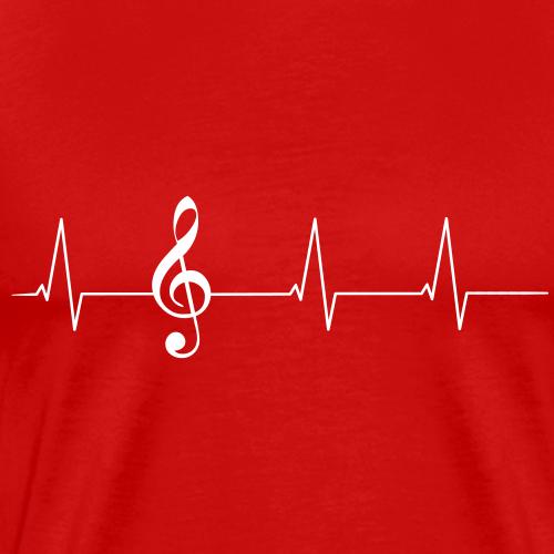 Herzschlag Notenschlüssel