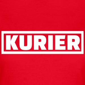 Kurier T-Shirts - Frauen T-Shirt
