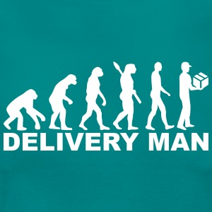 Evolution delivery man T-Shirts - Frauen T-Shirt