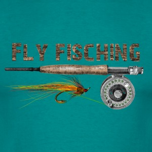 Fly fishing Tee shirts - T-shirt Homme