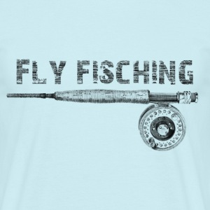 Fly fisching Tee shirts - T-shirt Homme