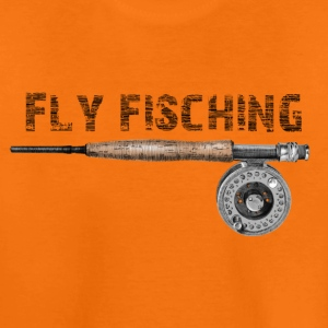 Angel fly fishing T-Shirts - Teenager Premium T-Shirt